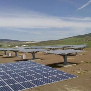 Huerto solar en Madrigalejo. Caceres