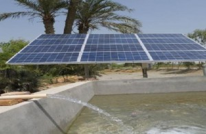 bombeo alimentado por energia solar